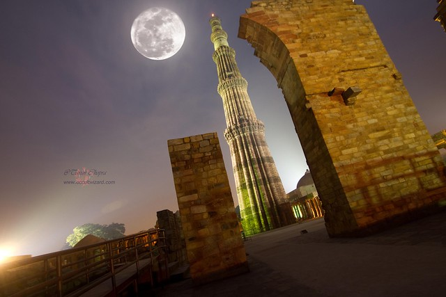Qutab + Super Moon