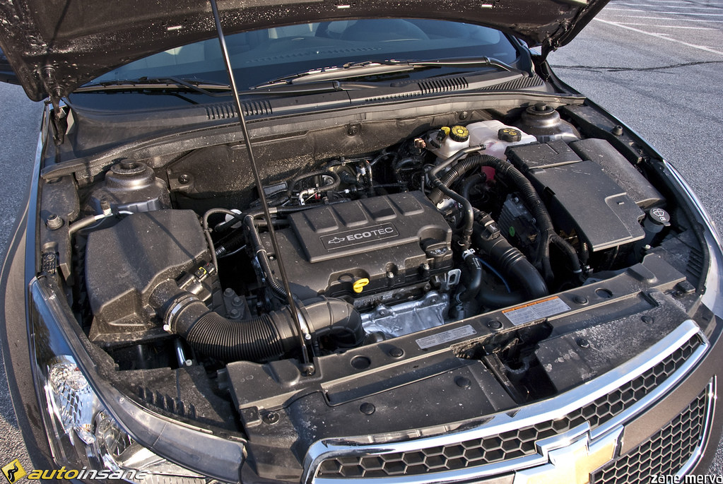 2011 Chevrolet Cruze Eco Engine Bay | Check out our full rev