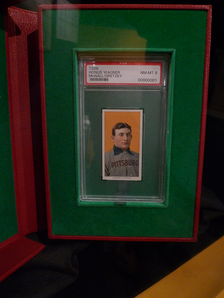 The Most Expensive Baseball Card In The World Honus Wagne