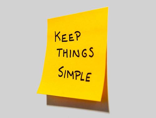 Keep Things Simple | by gdsteam