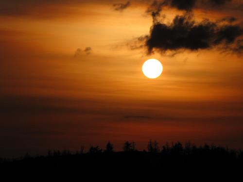 sun sunrise northcarolina blueridgeparkway ndfilter westernnorthcarolina neutraldensityfilter southernappalachians ccbyncsa hoyand8 canonpowershotsx10is betsyfallsview