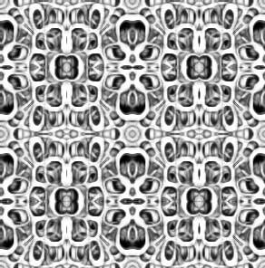 Psychedelic Deco Pattern- basic1+... ,softer | by PhotoComix_Mandala