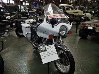 1989 Suzuki GR650 motorcycle - Military Police