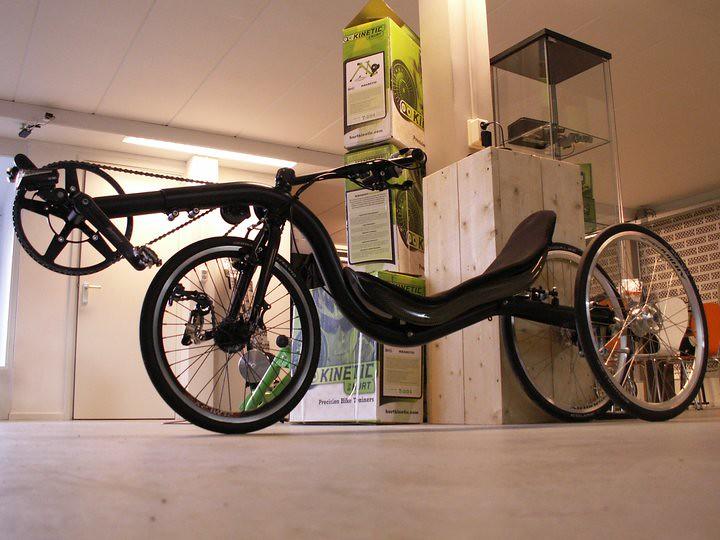 raptotrike   Arnold's tilting trike prototype www raptobike
