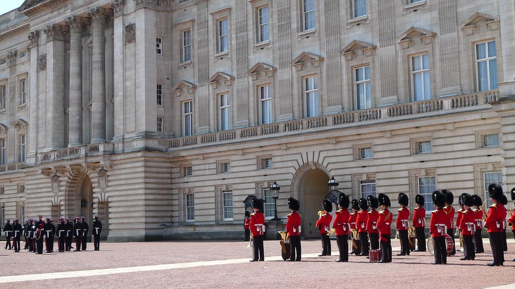 Buckingham Palace Changing of the Guard ritual