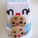 Milk + Cookies Handmade Plush by BoredInc