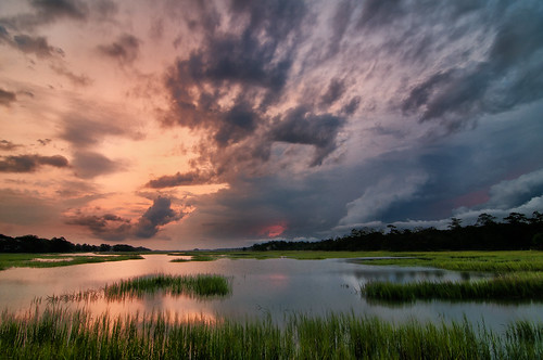 seascape storm color water clouds sunrise nikon tokina wetlands environment marsh 1080p 2011 d300s atxpro116dx