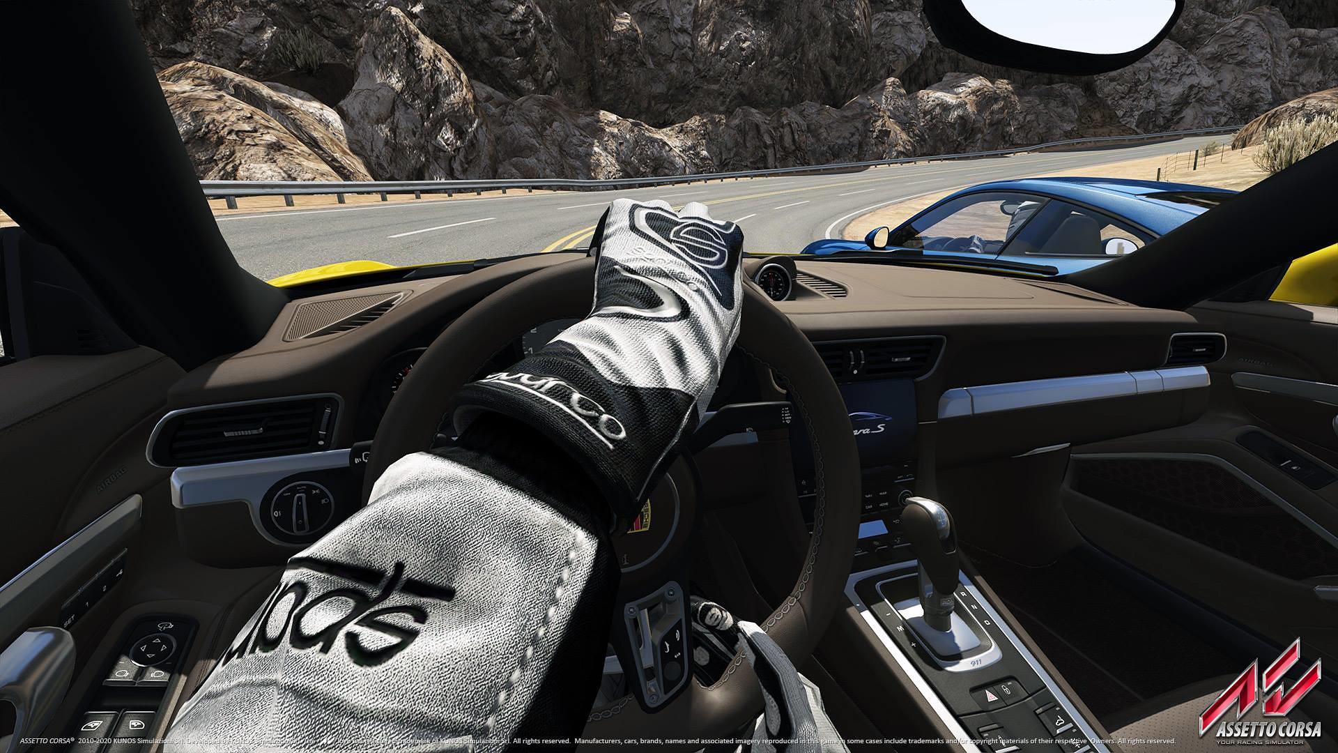 AC Porsche Teaser cockpit