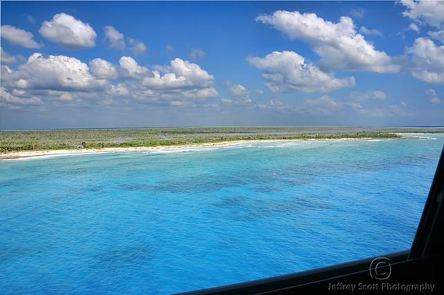 Colorful Costa Maya Sea and Sky