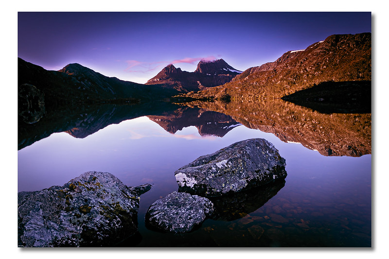 Cradle Mountain (v), Tasmania, Australia