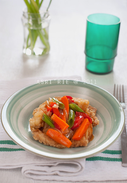 red snapper sweet and sour