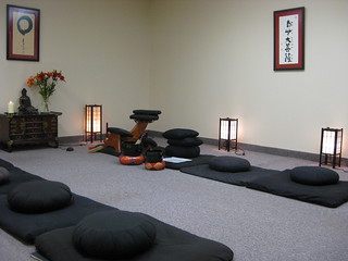 The zendo | by Burning House Zendo