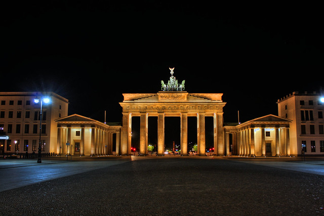 Berlin - Brandenburger Tor 01