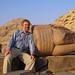 U pyramid v Abúsíru, foto: Luděk Wellner