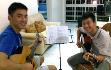 Beginner guitar lessons Singapore Nigel