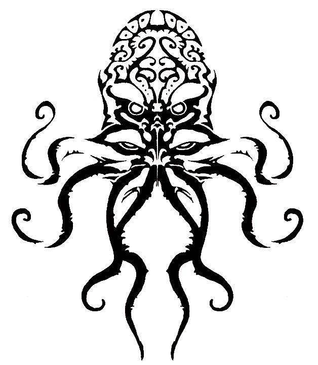 Cthulhu Tattoo design | DavidBueVil | Flickr