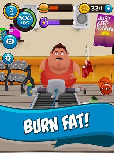 burn fat in Fit The Fat 2 Cheats game