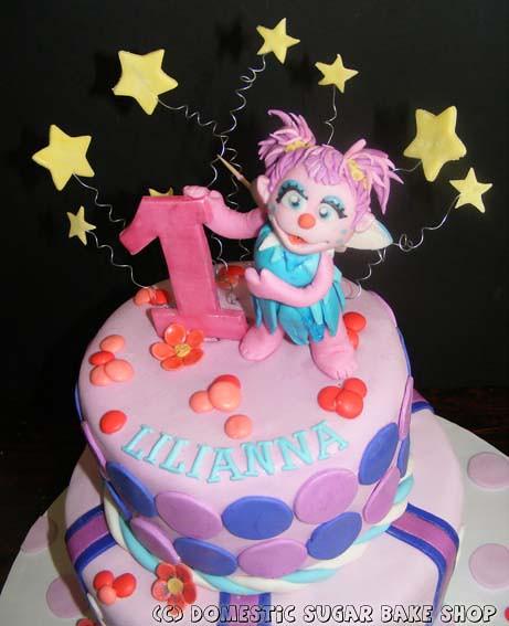 Tremendous Abby Cadabby Birthday Cake C Domestic Sugar Bake Shop Do Flickr Personalised Birthday Cards Veneteletsinfo