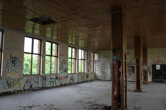 ehemalige Glasfabrik in Staaken
