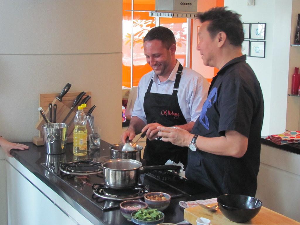 Chef David Gilbert Chef Mcdang Cooking Thai Food Recipes