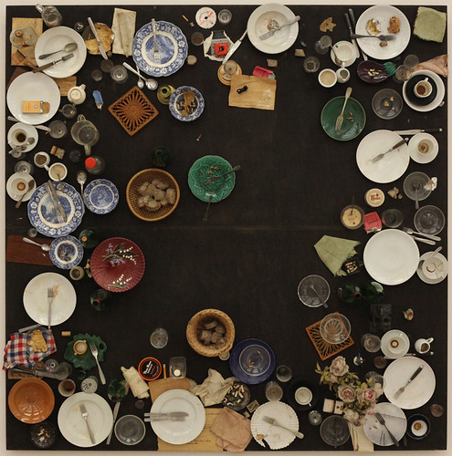 Daniel Spoerri, Hahn's (Last) Supper, 1964 1 | by modern art - molecularshik