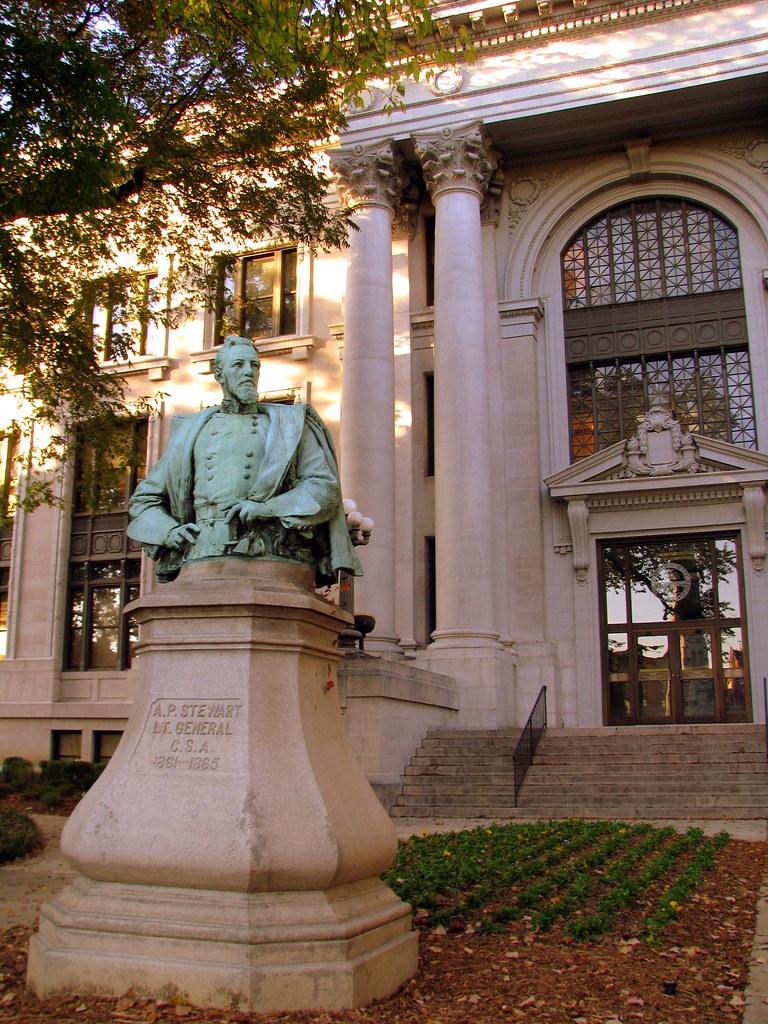 Lt  Gen  Alexander P  Stewart Statue