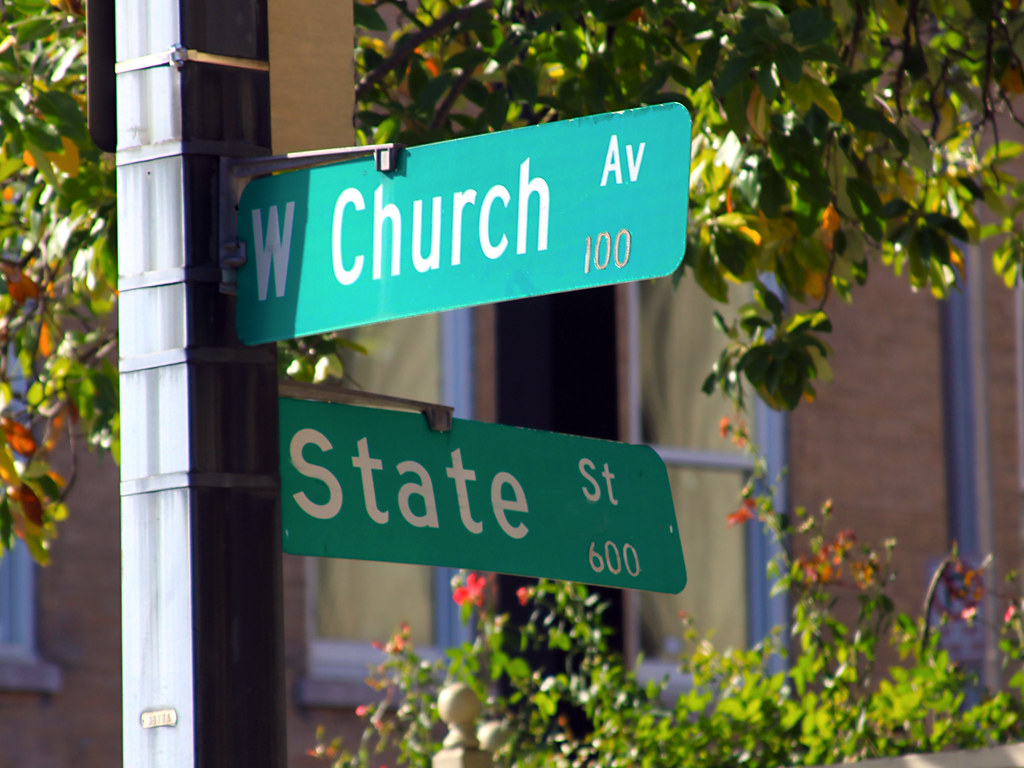 The Corner of Church and State