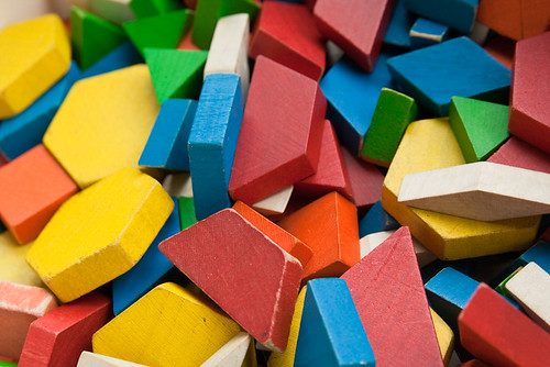 Colorful Wooden Blocks Children's Museum Macro April 17, 20114 | by stevendepolo