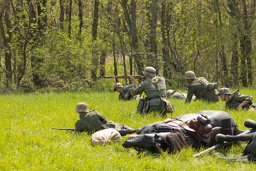 soldier spring unitedstatesofamerica wwii indiana german tribute reenactment reenactor skirmish lowell 2011