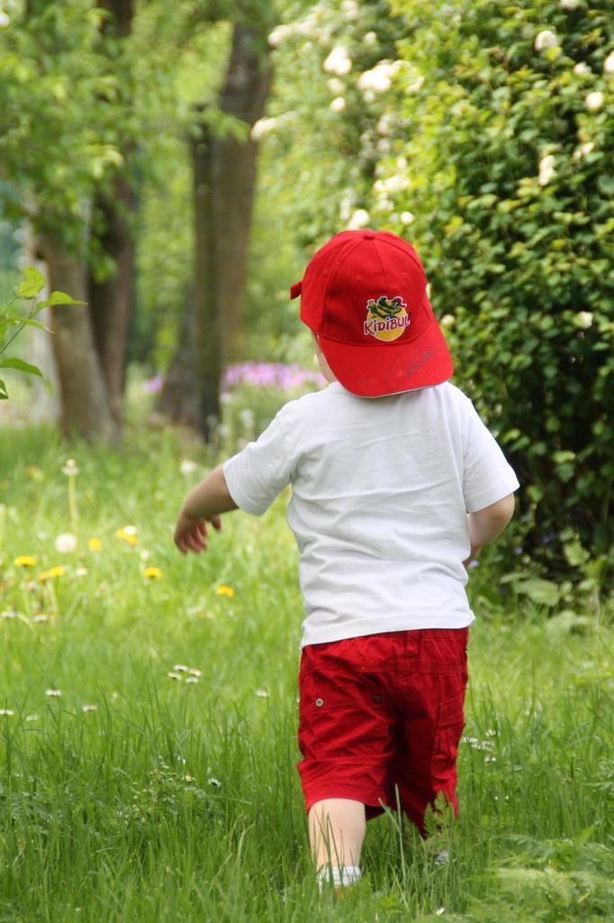 Jardin sauvage-enfant
