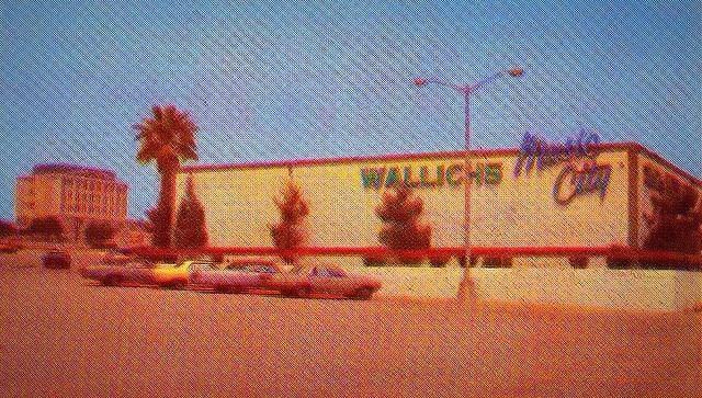 Wallich's Music City, West Covina 1966