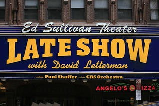 Ed Sullivan Theater, David Letterman | by Alex E. Proimos
