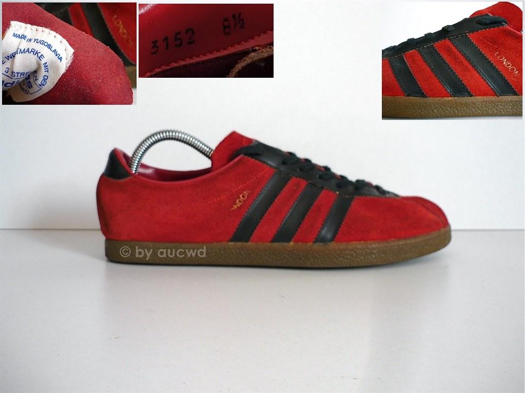 THE ORIGINAL 70' Adidas Rom Made In Yugoslavia ~37Eu Vintage