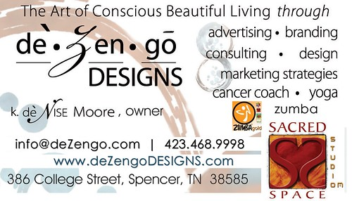 deZengoDESIGNS :: SACREDspace - Business Card | by deZengo
