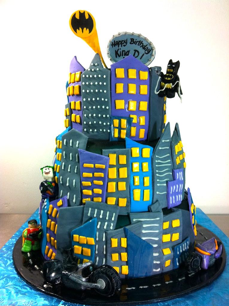 Strange Lego Batman Joker Cake Cakesbygaby Com Gaby Triana Flickr Personalised Birthday Cards Akebfashionlily Jamesorg