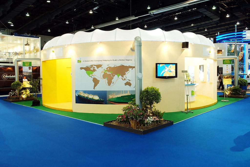 Custom Built Exhibition Stands Uk : Nigeria lng custom built exhibition display stand custom eu flickr