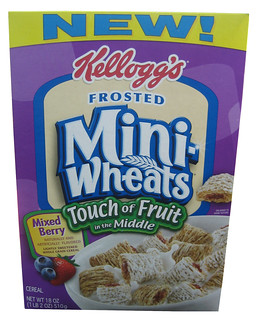 Frosted Mini Wheats Touch of Fruit in the Middle | by theimpulsivebuy