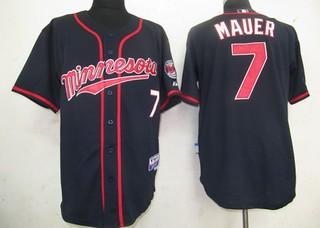 MLB Jerseys Minnesota Twins 7 Mauer blueuff0ccheap nfl jerseys ...