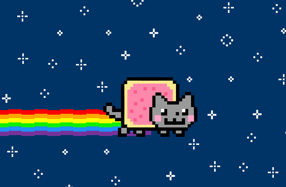 Nyan Cat | One of my favourite PMG builds. :D This is Nyan C… | Flickr