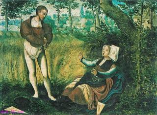 Jan van Amstel 'Auf der Wallfahrt' 1526
