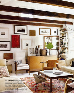 Nan Whitney {rustic vintage modern living room}   Rustic, ar ...