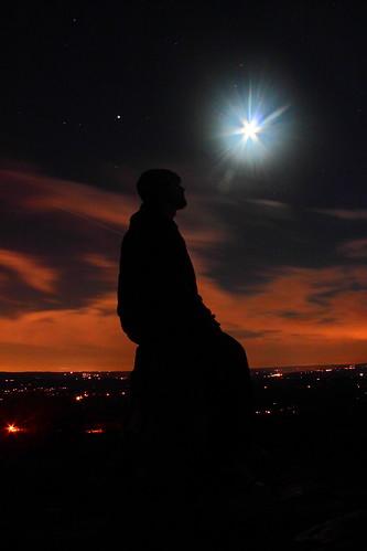 selfportrait silhouette sunrisemountain