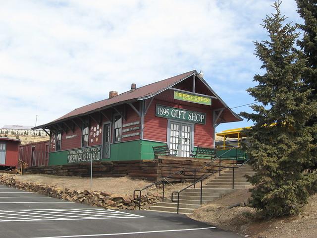 Station at Cripple Creek, CO