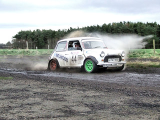 Charterhall Rally stages