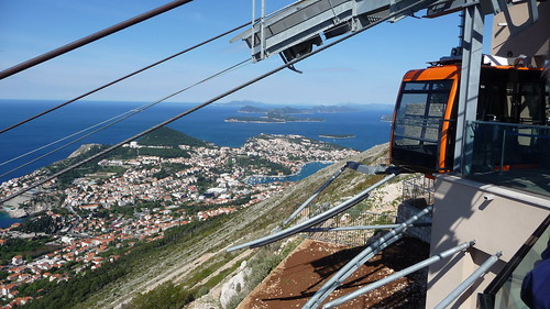 Cable car to Srd Mountain and Imperial Fortress, Dubrovnik, Croatia | by Matt-Zimmerman