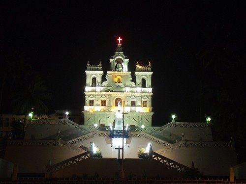 Panaji Church, Goa - India.