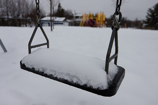 Winter is Back - What is a swing without spring? | by haban hero
