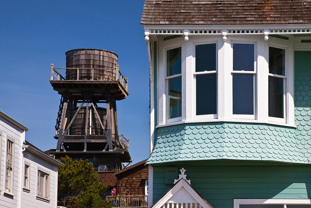 Historic Details of Mendocino