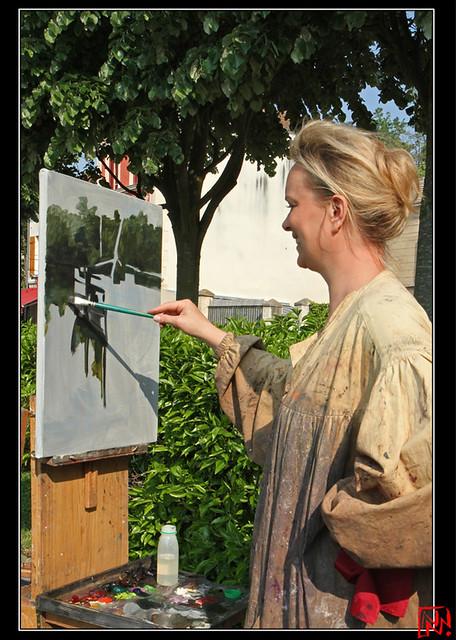 La joie de l'artiste....