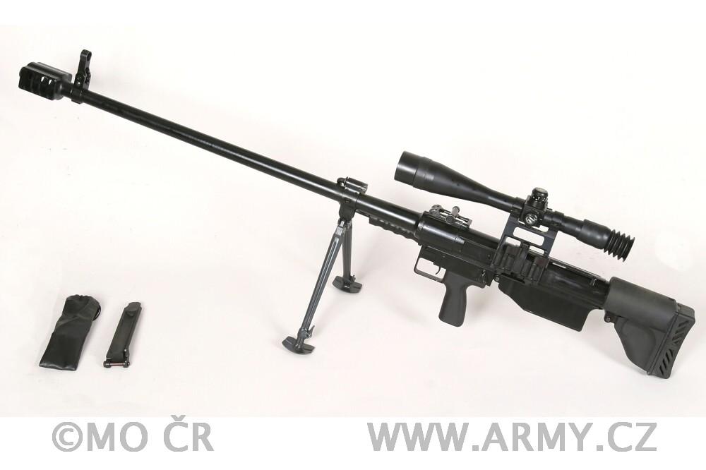 12,7mm odstřelovačská puška Falcon OP 96, OP 99 (12 7 mm s
